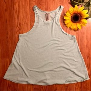 Free People We The Free Ribbed Tank Large